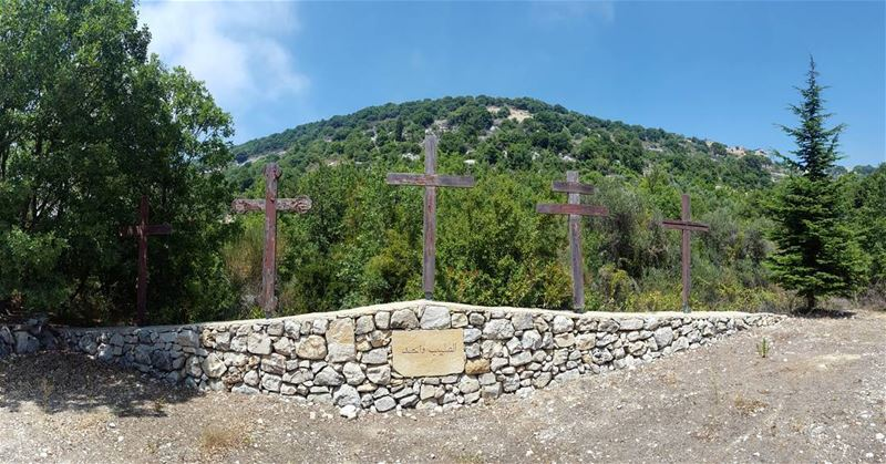 "❤🕊🍃🌲+†🕇†+🌲🍃🕊❤ ""Everything is a reminder of The Cross. We ourselves... (Mayfuq, Mont-Liban, Lebanon)"