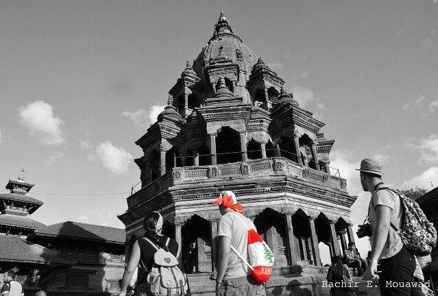 لو لم يكن لبنان وطني لخترته وطناً لي nepal kathmandu lebanon flag ...