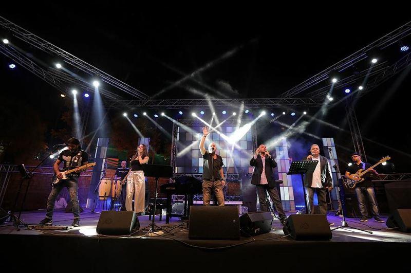 ajaltoun ajaltounfestival2017 ajaltounfestival live performance ... (Ajaltoun, Mont-Liban, Lebanon)