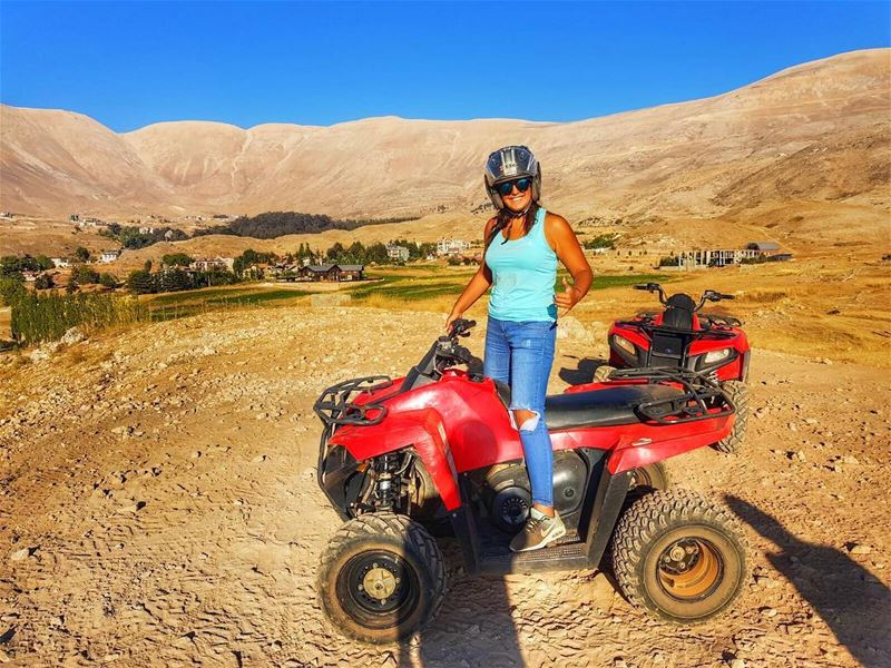 هون السما قريبة ATV offroad adrenaline cedars nature ... (Cedars of God)
