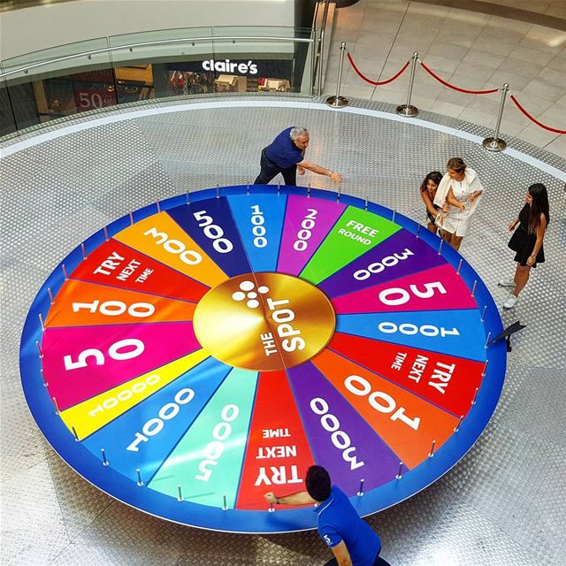 @choueifat spinwheel thespot insta_lebanon ptk_lebanon livelovebeirut...
