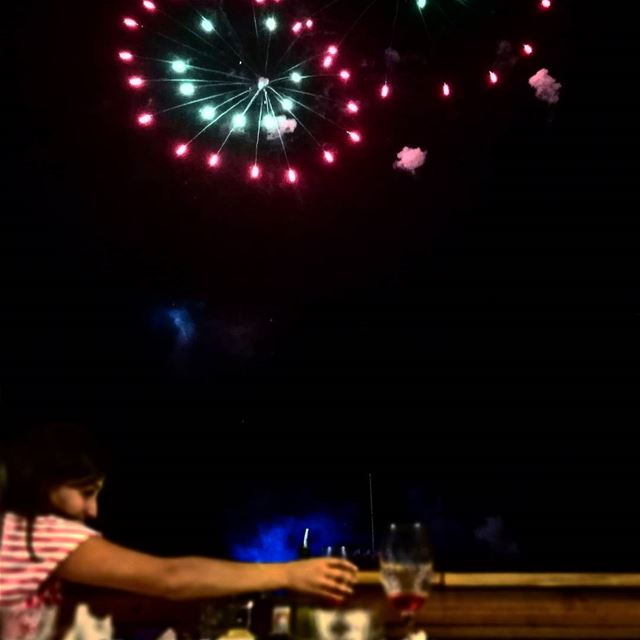 Wine under the fireworks - ichalhoub in Batroun north Lebanon / ...