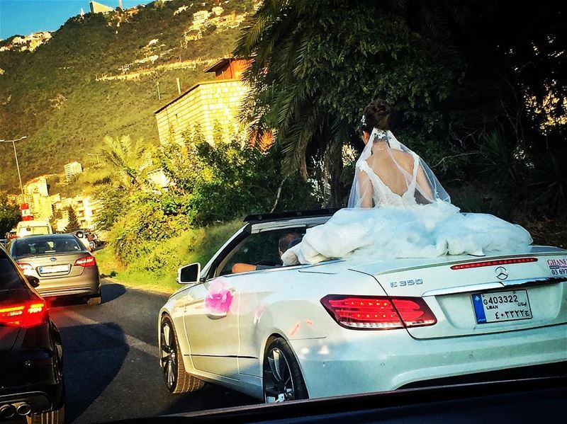 Traffic in Lebanon 👰🏻 livelovelebanon livelovejounieh ... (Joünié)