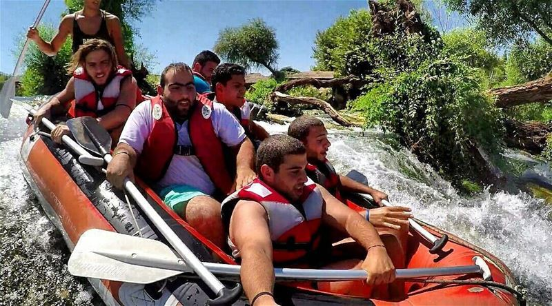 So much fun by @pierreantoun hermel hermel_city bekaa lebanon raft ...