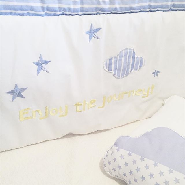 Enjoy the journey 🛩 DreamBIG!Write it on fabric by nid d'abeille ...
