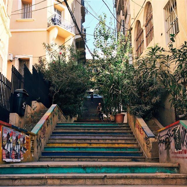 •Have a colorful Sunday• Beirut Lebanon exklusive_shot liveauthentic ... (Beirut, Lebanon)