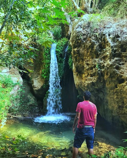 I guess, i guess i have a thing for waterfalls🤔 ... (Batroun District)