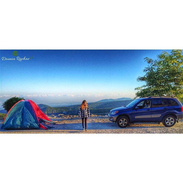 "Camping is ""Home"" 🍃Credit to: @sharbelfahed7...Huawei Nexus 6P Phone... (Annâya, Mont-Liban, Lebanon)"