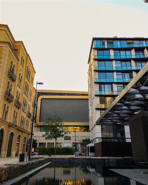 Beirut between history and modernity 💚 livelovebeirut Downtown ... (Beirut Souks)