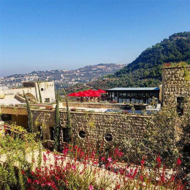 Life-prolonging view to wake up to bkerzay lebanon liban libanais ... (Bkerzay)