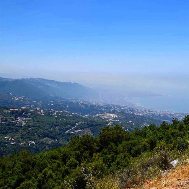 Beirut to Zouk to Jounieh 🦋 Keserwan_______🇱🇧______ Lebanon come... (El Ghîné, Mont-Liban, Lebanon)