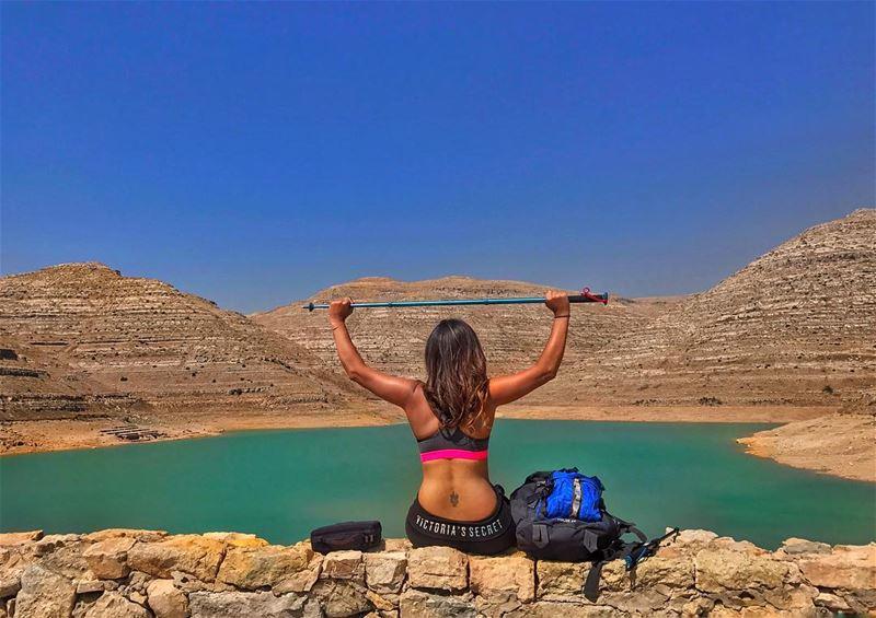 And so the adventure begins! ⛰ (Faraya, Mont-Liban, Lebanon)
