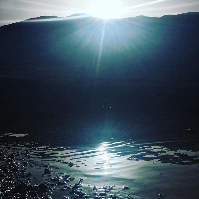Rise & Shine. monday mondaymotivation lebanon mountains sunrise sun... (Ouâdi Chabroûh)