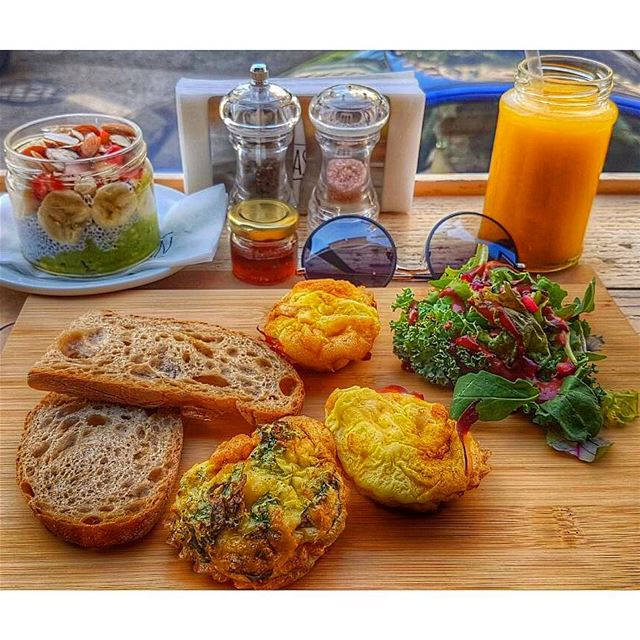 Don't panic it's organic 🍳 Bonjourhealthies Goodmorninghealthies... (Breakfast Barn)