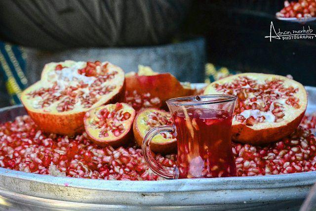 pomegranate season 😍 food foodlove yum instafood socialenvy fruit ... (`Akkar, Liban-Nord, Lebanon)