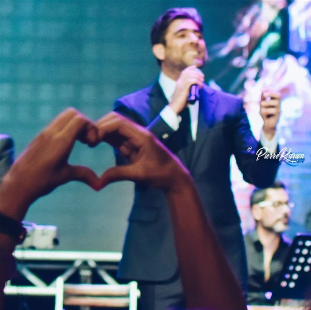 To wael with  love amazing concertAfter 25 years  waelkfoury was back...