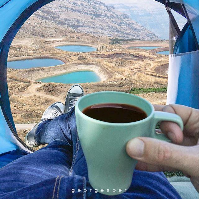 Camping in Akoura, Mount Lebanon 🇱🇧.....[photo montage]... (Akoura, Mont-Liban, Lebanon)