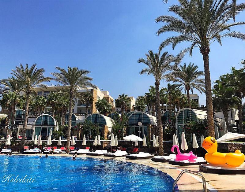 Beautiful week ahead😍enjoying last summer days 🌞 whatsuplebanon ... (Pangea Beach Resort)