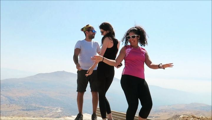 Celebrating the summit 💃🏻🕺💃🏻🕺😁@raghid.farhat@micho_kh25 hike ...