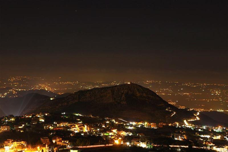 🌃✨.... night nightphotography nightshot landscape... (Ehden, Lebanon)