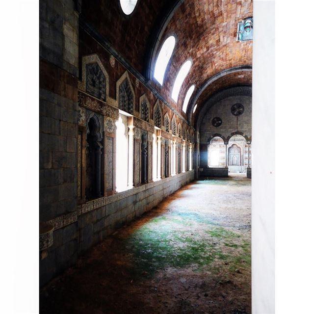 Majestic ⋂........ architecturephotography architecture arch ... (Jezzîne, Al Janub, Lebanon)