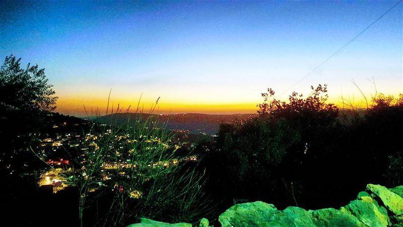 sunset magicalview amazing colors hasbaya hasbaya_pictures ... (Hasbaya)