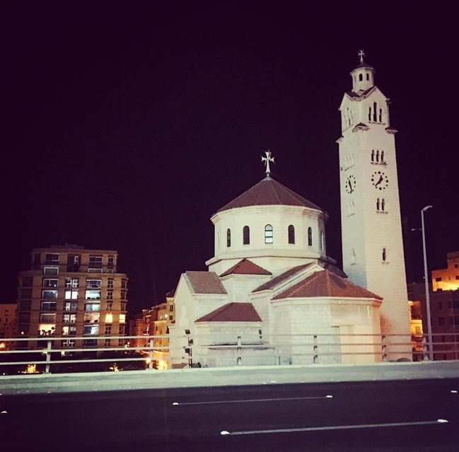 Beirut nights ❤️ lebanon beirut downtownbeirut history church ... (Downtown Beirut)