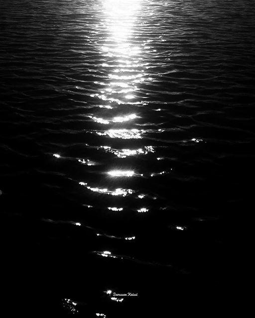 blackandwhite monochrome sea ...
