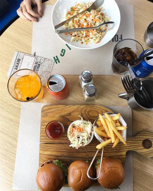 When @divvyrestaurant ❤️ PeterByekolWenMaken food foodie foodies ... (The Village Dbayeh)
