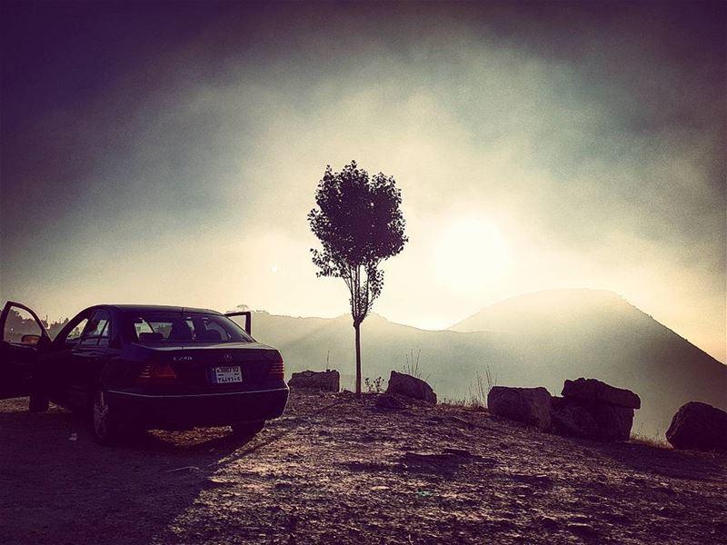 Sole Witness ontheedge intheclouds dramatic lebanese mountain ... (Mzaar Kfardebian)