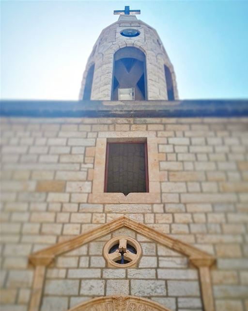 summer  summertime  lebanon  lebanese  architecture  church  maronite ... (Hammana)