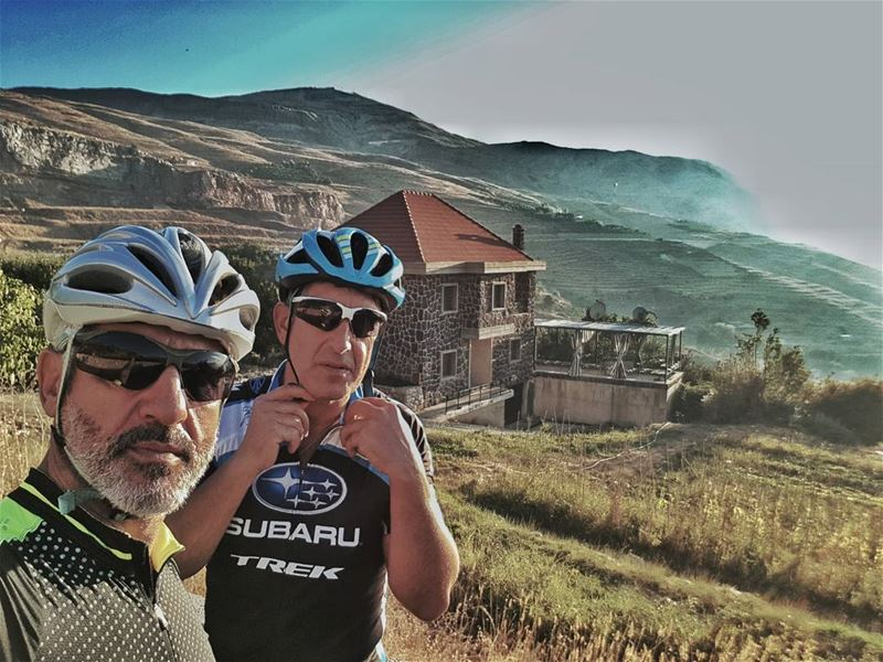 cyclinglife cyclingphotos cyclingday cycling cyclingsunset ... (Sannin, Mont-Liban, Lebanon)