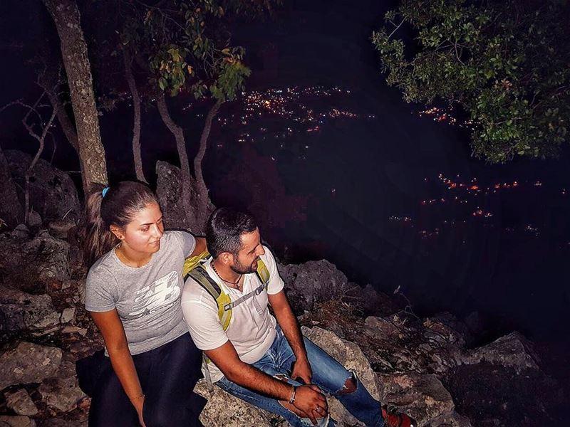 Put GOD first and you'll never be last hiking hikingadventures ... (Jabal Moûssi)