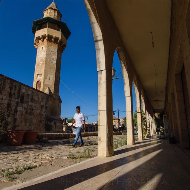Deir al-qamar street walk vintage mosque photography arch ... (Dayr Al Qamar, Mont-Liban, Lebanon)
