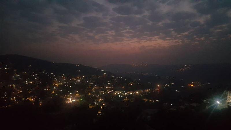 sunset magicalview amazing shotonnote5 hasbaya_pictures hasbaya ... (حاصبيا)