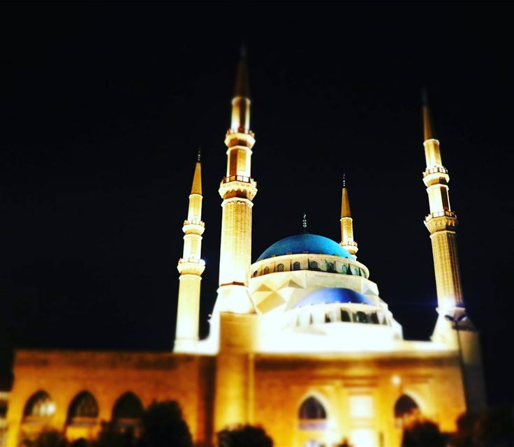 We miss You RH Lebanon mosque elamin peace Beirut muslim night ...
