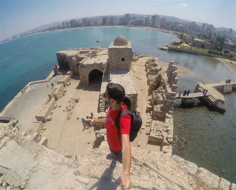 Exploring The Sea Castle 🔝 (Sidon, Lebanon)