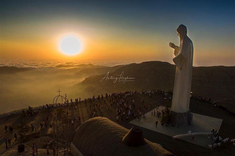 Saint Charbel ❤️ (St Charbel Faraya)