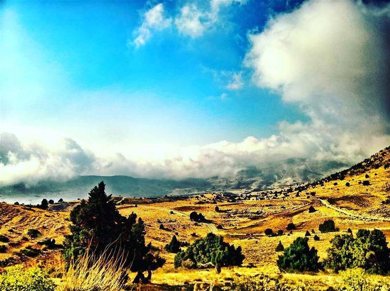 Beautiful view from jord_elhermel by @firassafwan Hermel hermel_city ...