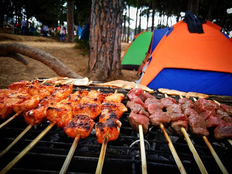 tfaddalo mashewe camping cheers endofsummer @mireillelias @passcalelia