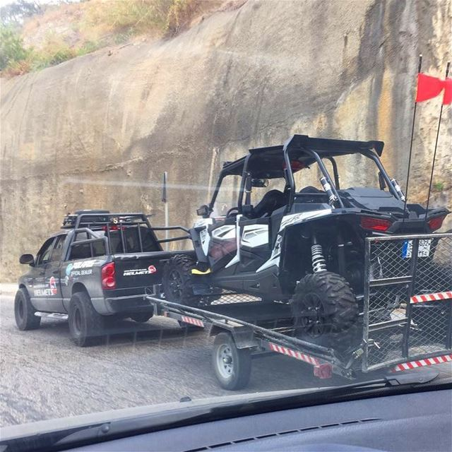Our customers spotting the delivery !  polarislebanon  rzr  atv ...