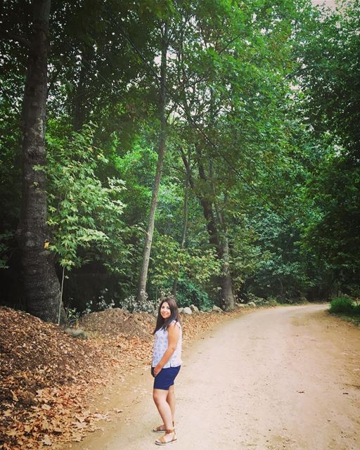 A walk in nature walks the soul back home. - Mary Davis lebanon ... (Kfarhilda, North)