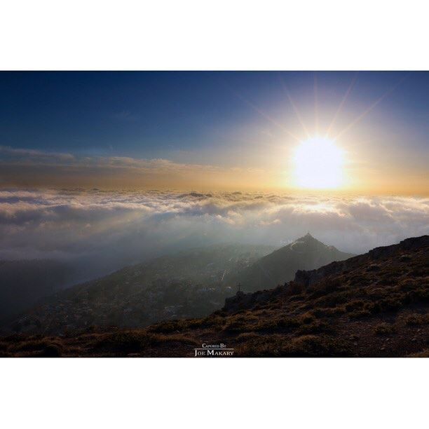 ehden sunset fog clouds sky color beautifullebanon livelovelebanon...