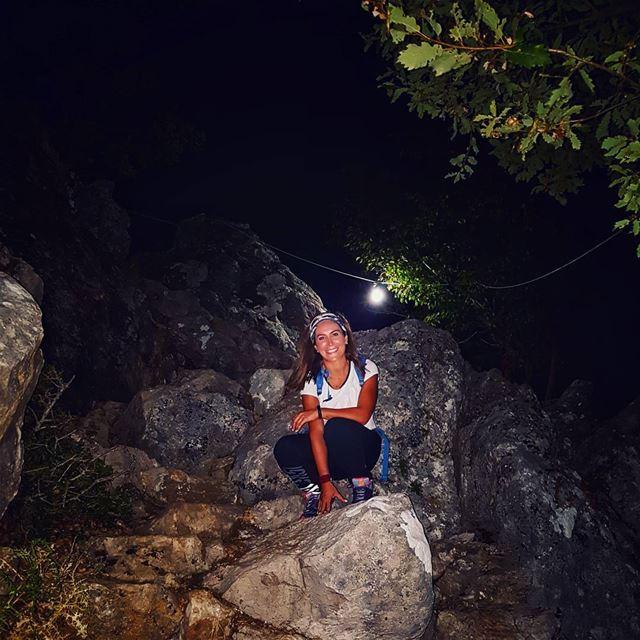 🔦 crosshike...... hikingadventures lebanonshots hikingaddict ... (Jabal Moûssi)
