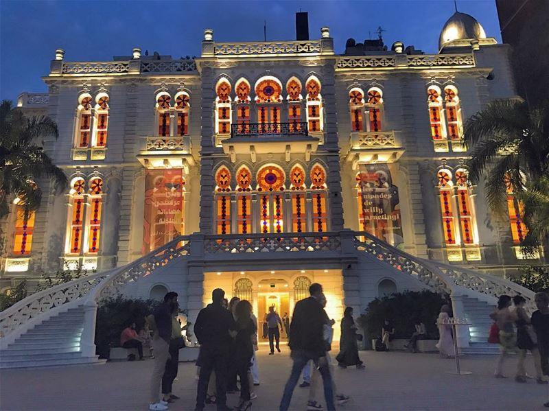 Inspired by @gabyzarazir -Ceci n'est pas le palais d 'Aladin 📍💛🌎🌙-.... (Sursock Museum)