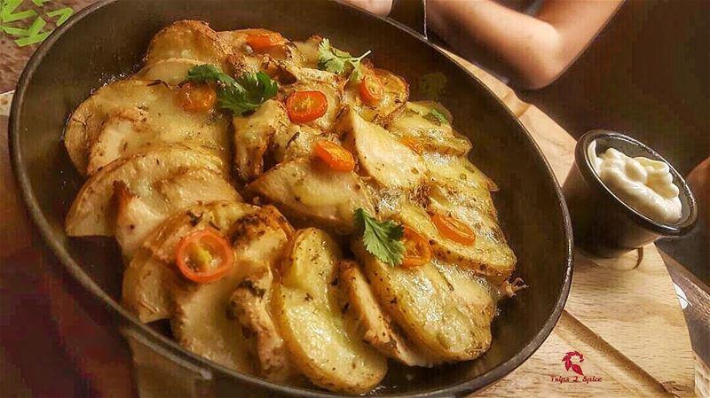 Chicken potato...welcome home ✌🏻 .------------------------📍 @zaatarwzei