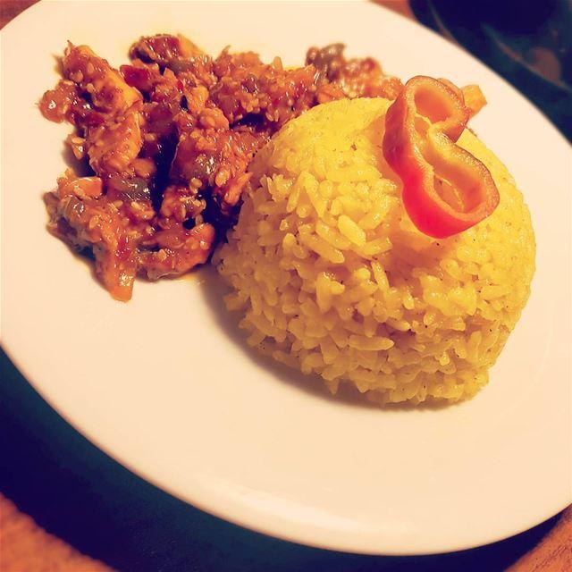 teryakichicken teryaki rice food teryakisauce chicken...