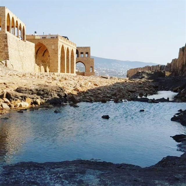 Batroun 💙. The sea flows no matter the epochs, civilizations and time.Сни (Batroûn)