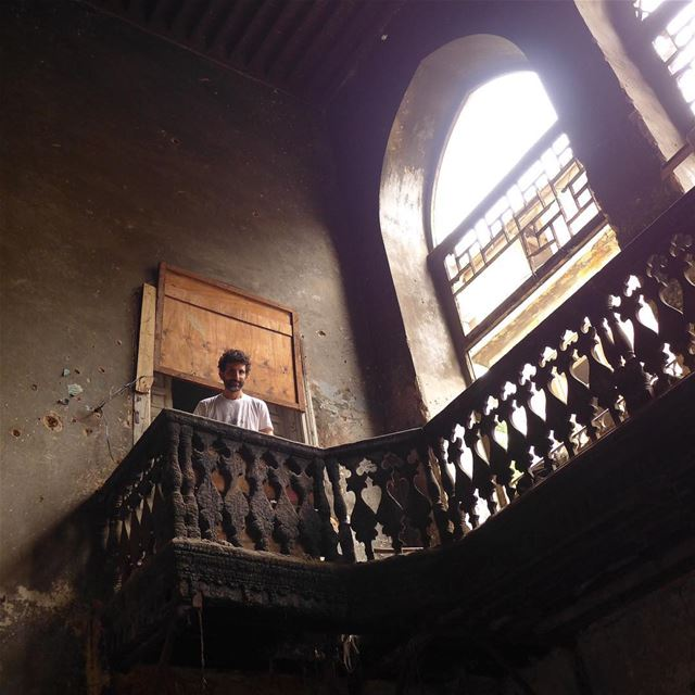 Lost in time.... savebeirutheritage heneinepalace abandonedplaces ... (Zuqaq al-Blat)
