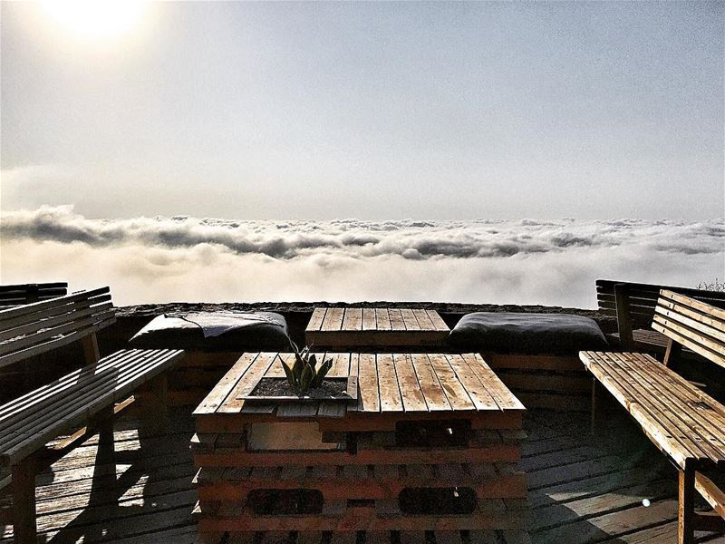 Live post!See you tonight, partying above the clouds! zaarour lebanon.... (Frozen Cherry)